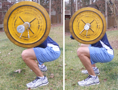 Back and Front Squat