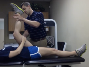 Manual Muscle Testing (MMT) of Hamstrings in Lengthened State