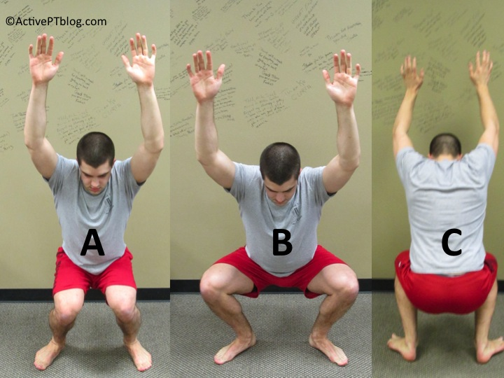 how to start oveheah squat